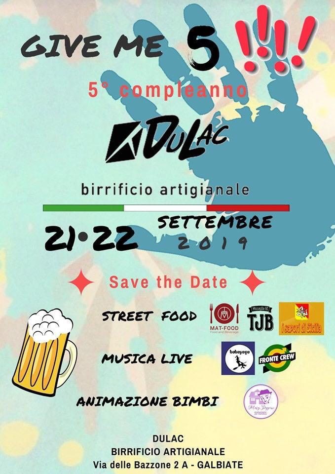 DuLac - 5 compleanno